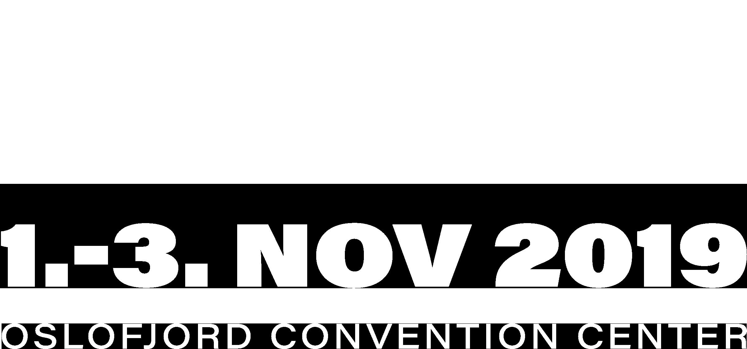 Get Focused 2019, 1.-3. november på Oslofjord Convention Center